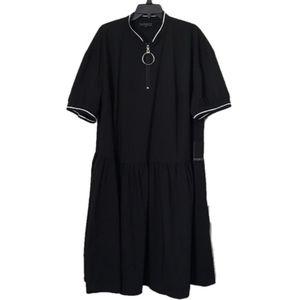Eloquii athleisure windbreaker dress B7